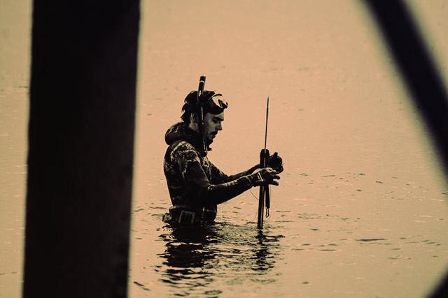Оборудование в подводной охоте
