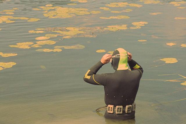 Особенности озерной подводной охоты
