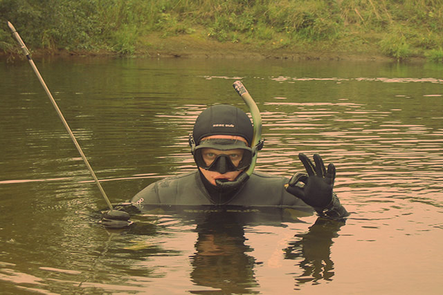 Особенности речной подводной охоты
