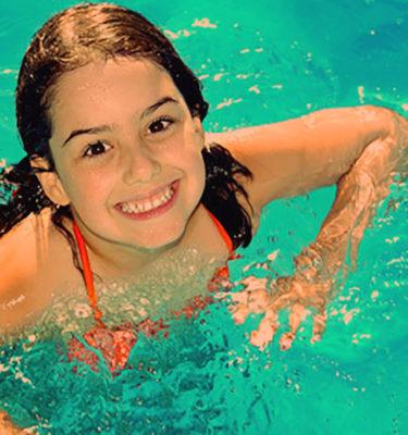 Радость плавание