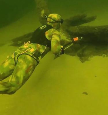 Терпение под водой