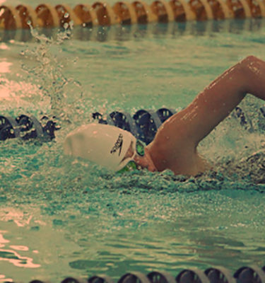 Захват воды в плавании