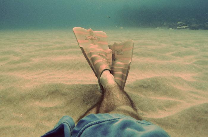 Плаваем в ластах