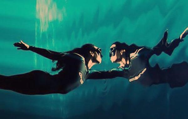 Легкость в воде